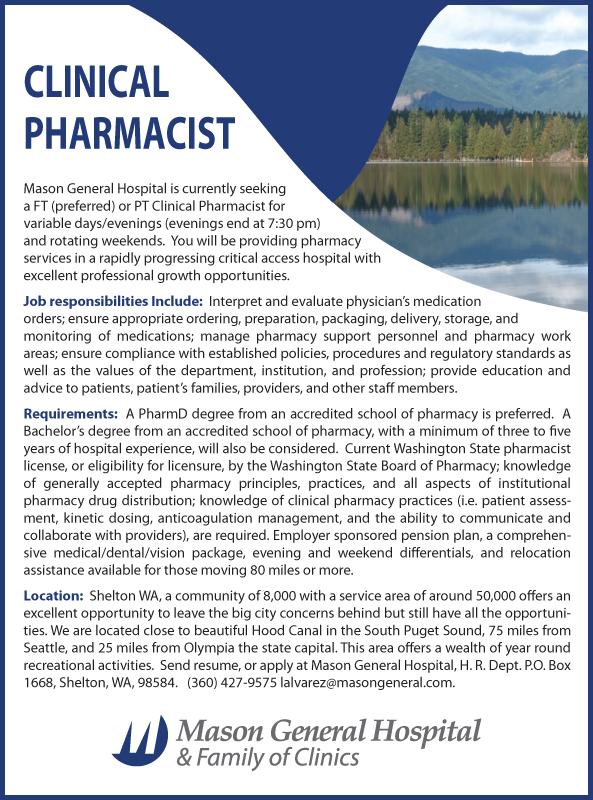 drug information - Clinical Pharmacist Cover Letter