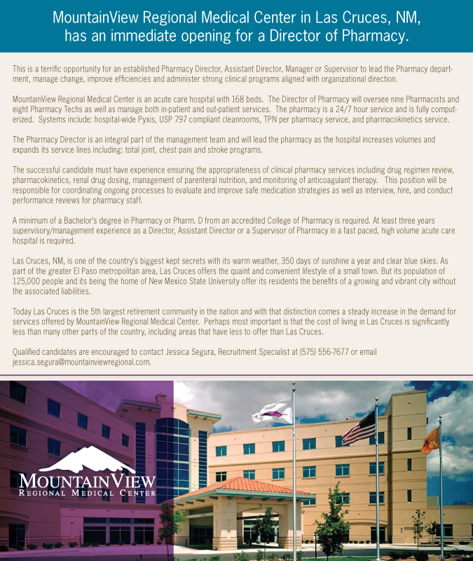 Spotlight Job Dop With Mountainview Regional Medical Center In Las